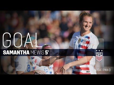 WNT vs. Panama: Samantha Mewis Goal - Oct. 7, 2018