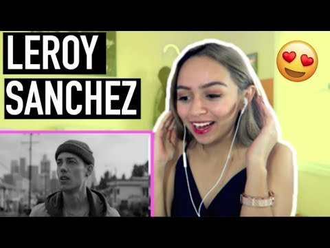 LEROY SANCHEZ - In My Blood (Shawn Mendes) Cover | REACTION