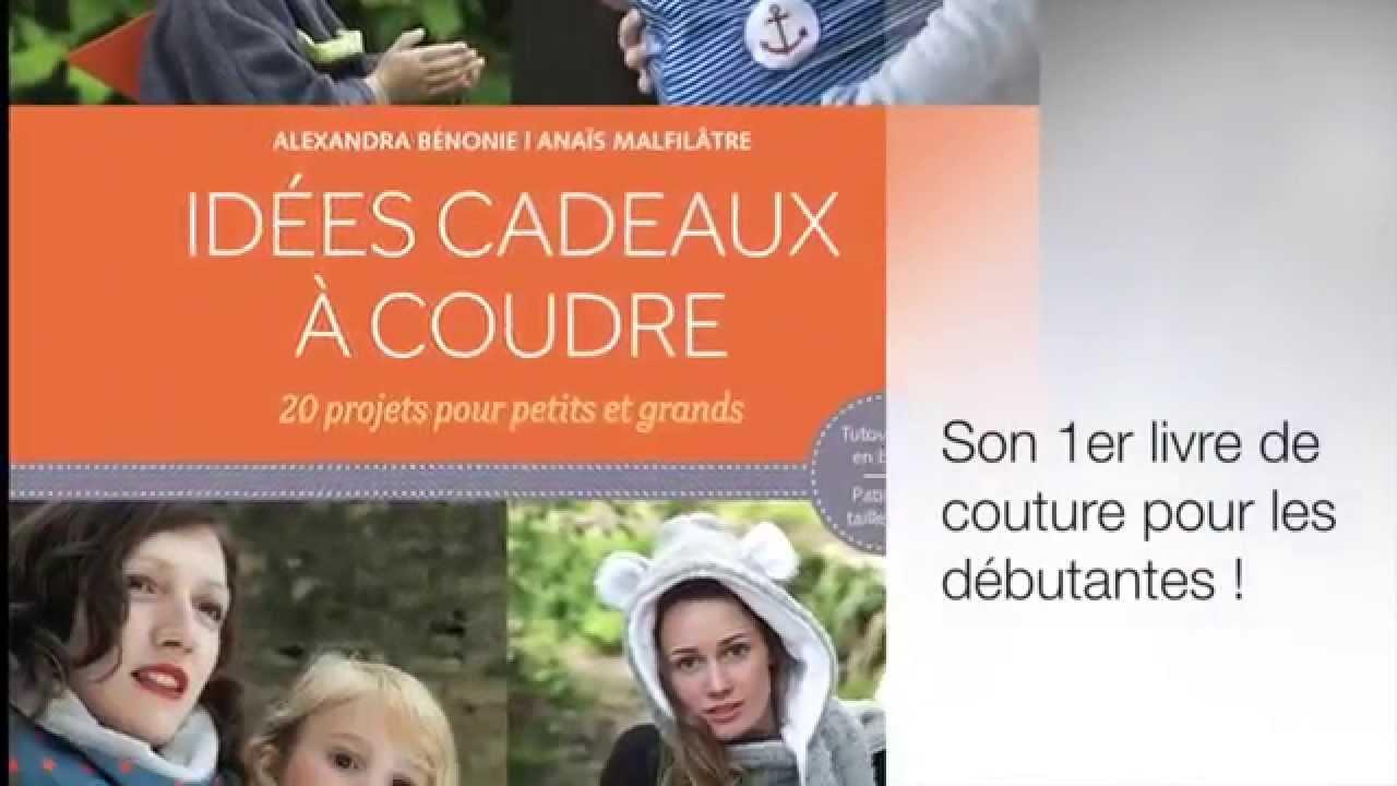 """Super Présentation du livre """"Idées cadeaux à coudre"""" aux éditions  VR56"""