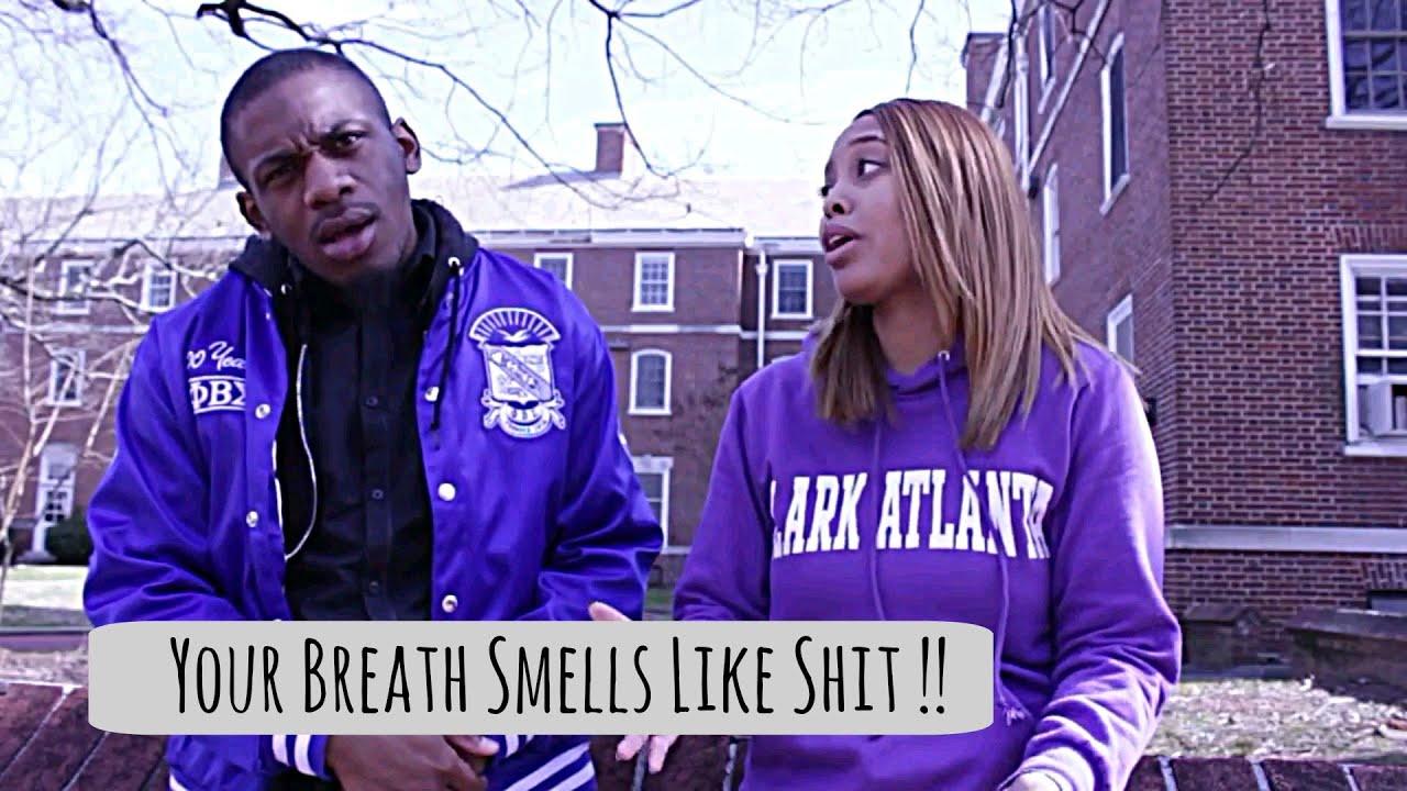 My girlfriends breath smells