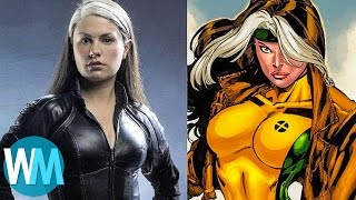 Top 10 Biggest DIFFERENCES Between The X-Men Movies And Comics streaming