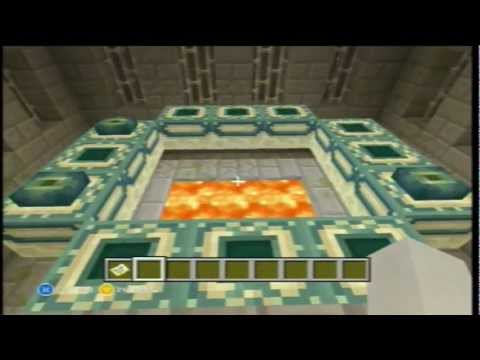 minecraft how to make end portal frame block