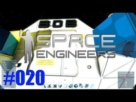 Space Engineers - Endlich mal ein anderes Gesicht, Trader Bob #020 [Gameplay German Deutsch]