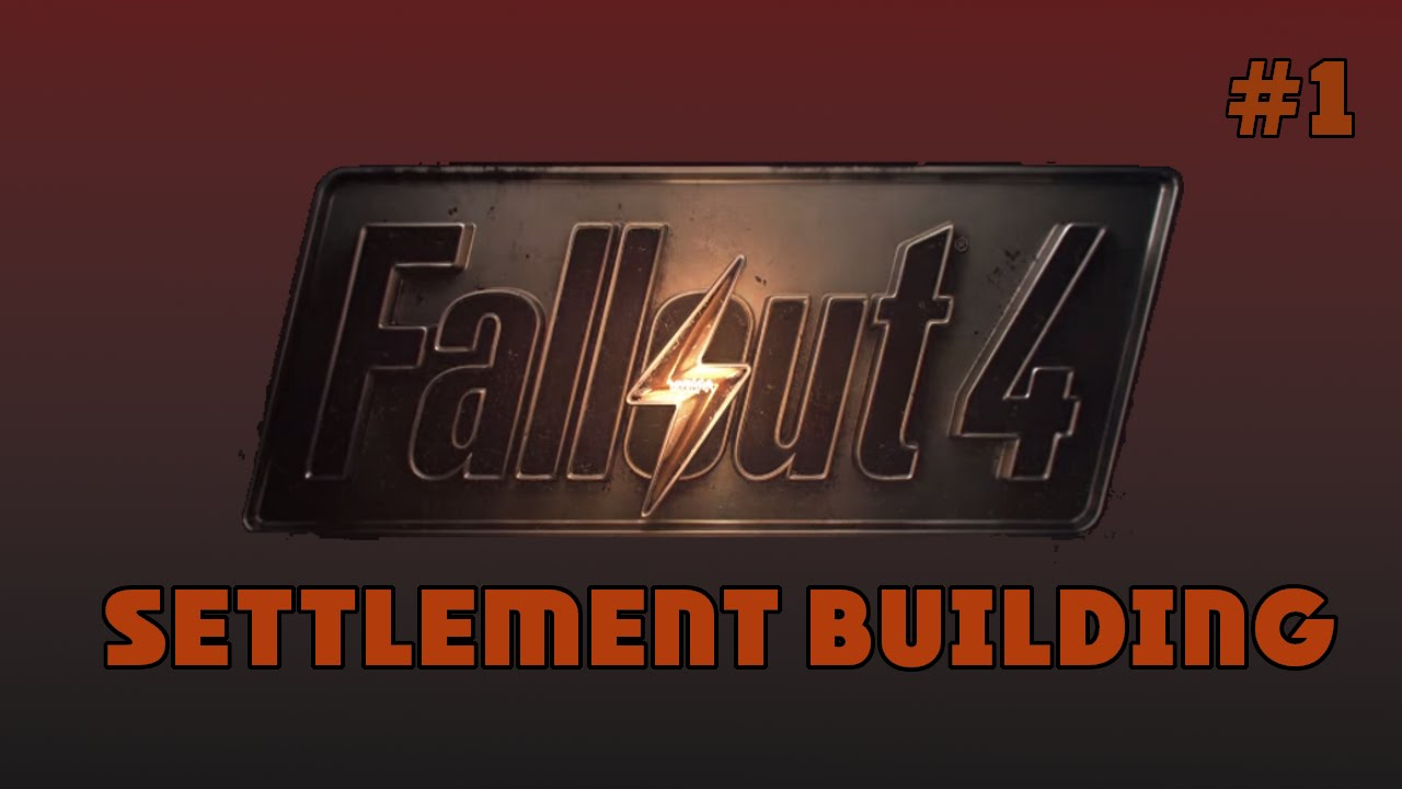 Fallout 4  Building  #1 Decorating With Junk   YouTube