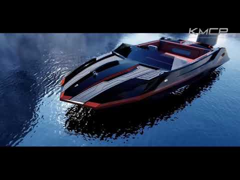 2018 KMCP SKI-X skiboat Development Process