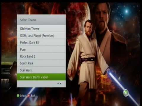 how to get free themes on xbox 360