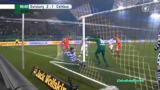 Duisburg - Cottbus 2:1 (DFB Pokal 2011 Halbfinale)