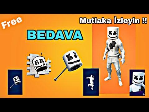 Fortnite Marshmello Skin Ve Kazma Almak | BEDAVA !!