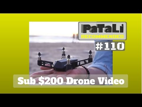 #110 - 4K Video Nano Drone with GPS for under $200 must see