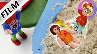 摩比游戏 Playmobil 小电影 小尤和妹妹艾玛 一起在游乐园玩耍