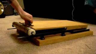 Homemade Letterpress