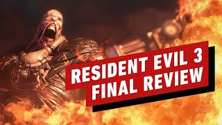Resident Evil 3 Final Review (Video Game Video Review)