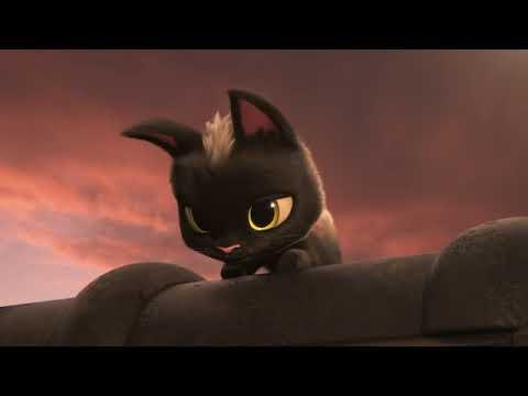 Мультфильм Черный кот