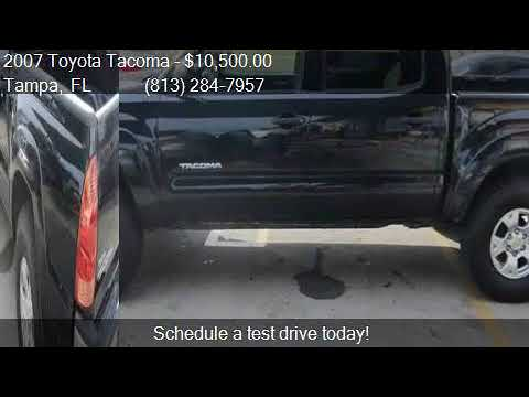 2007 Toyota Tacoma Prerunner SR5 for sale in Tampa, FL 33604