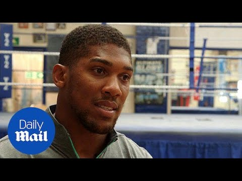 Boxing heavyweight champ Anthony Joshua talks to MailOnline - Daily Mail
