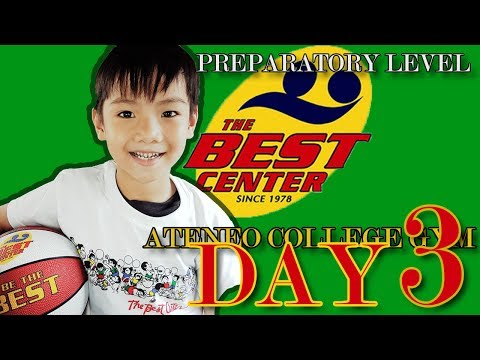 MILO BEST BASKETBALL CLINIC - PREPARATORY LEVEL DAY 3