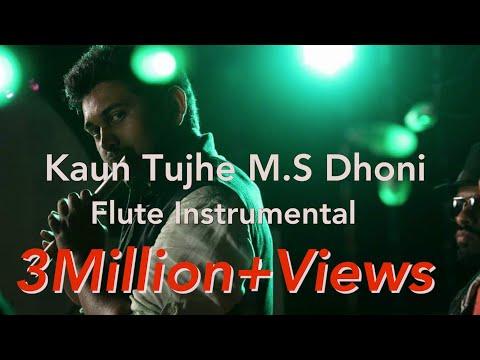 Kaun Tujhe | M.S. DHONI | ( Flute Instrumental Cover ) Stephen Frank Ft. Varun Rao & Darrel