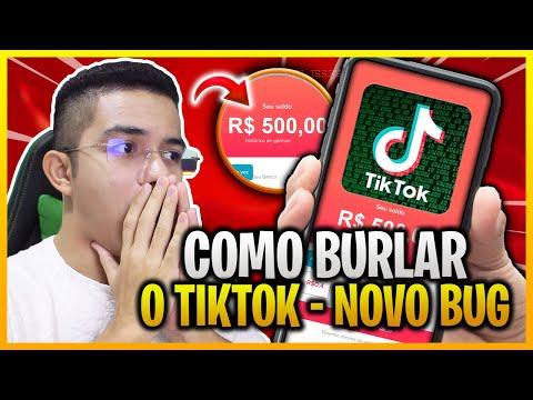 BOMBA!😱 Como LUCRAR com TIKTOK ganhar $520 REAIS em 20 MINUTOS - TIKTOK GANHAR DINHEIRO RAPIDO 2021