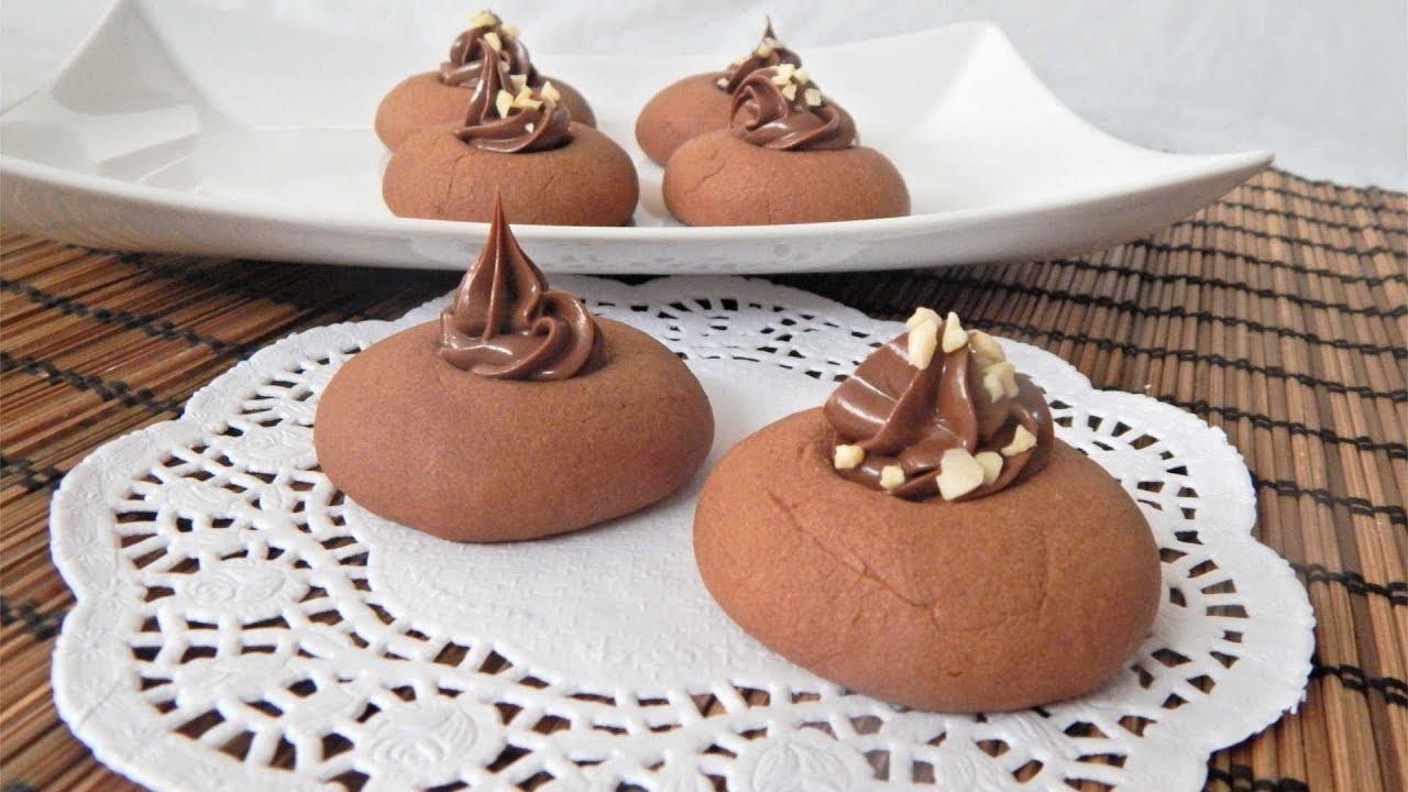 Ricetta Nutellotti Di Benedetta.Nutellotti Fatti In Casa Biscotti Alla Nutella Con 3 Ingredienti Youtube