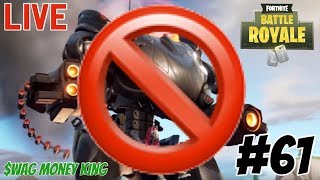 Fortnite Battle Royale #61 - GET RID OF MECHS 🔴LIVESTREAM🔴