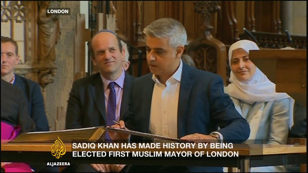 Sadiq Khan First Muslim Mayor Of A Western Capital