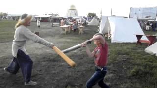 видео фехтование на мечах обучение