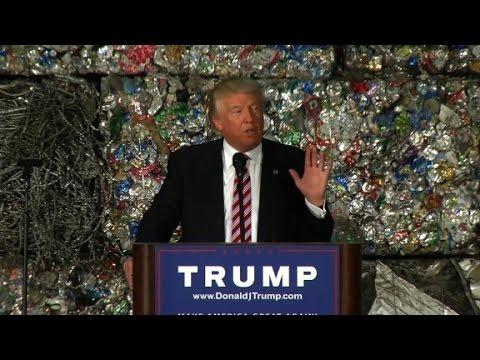 Donald Trump calls for economic independence (Full speech ...