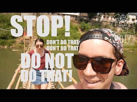 Luang Prabang, Laos | We paid money to walk over that bridge!! | South East Asia Vlog E28