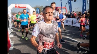 Vitberg: Reportaż 5 PZU Cracovia Pólmaraton Krolewski - zawody i strefa regeneracji