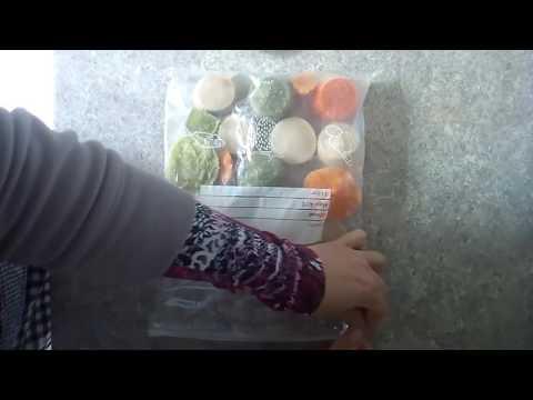 Детское питание.Пюре из риса, цветной капусты и авокадо. С 8 месяцев. без регистрации и смс