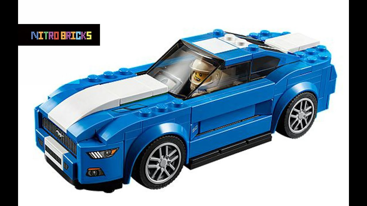 Build A Ford >> Lego Speed Champions Ford Mustang GT 75871| Lego Speed ...