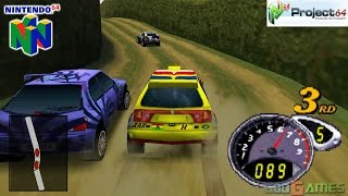 Top Gear Rally 2 - Gameplay Nintendo 64 1080p (Project 64)