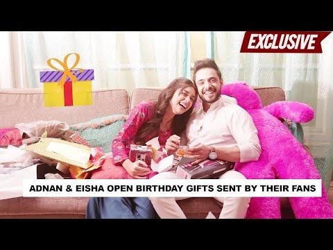 Adnan Khan & Eisha Singh get SPOILED by their fans   Gift Segment   PART 1   Ishq Subhan Allah
