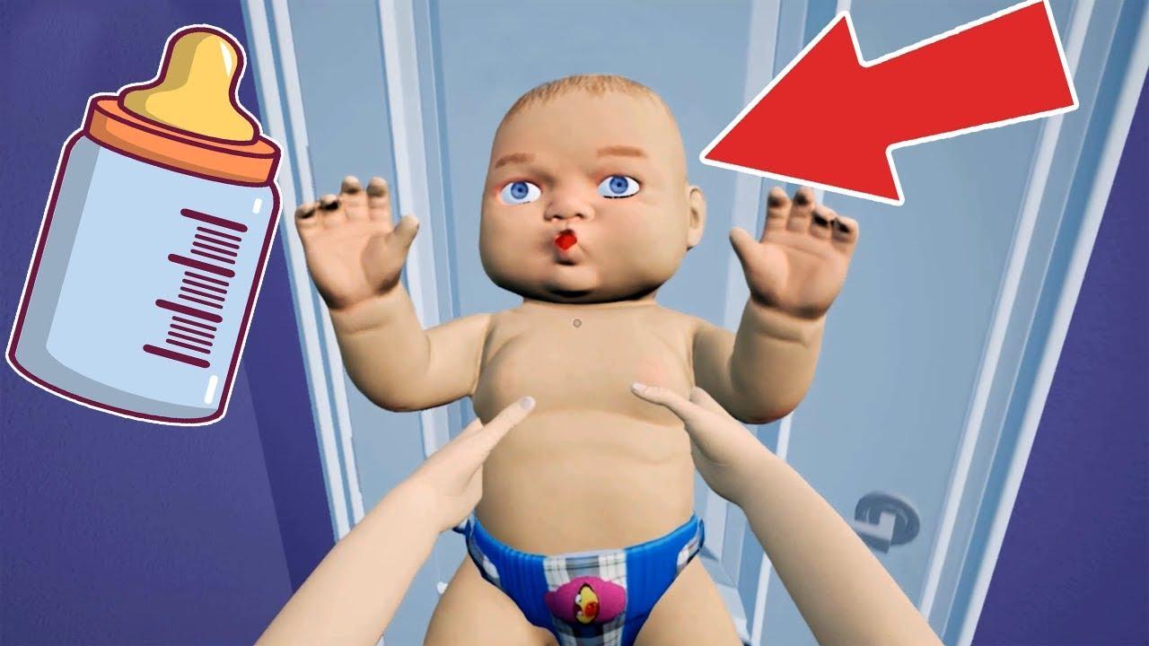 Anne Bebeğe Komik Bakım Eğlencesi #Çizgifilm Tadında Yeni Oyun