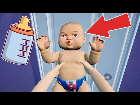 Anne Bebeğe Komik