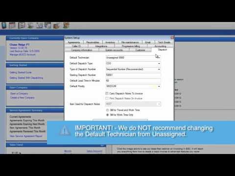 ESC Dispatching Essentials - Setup Dispatching In ESC