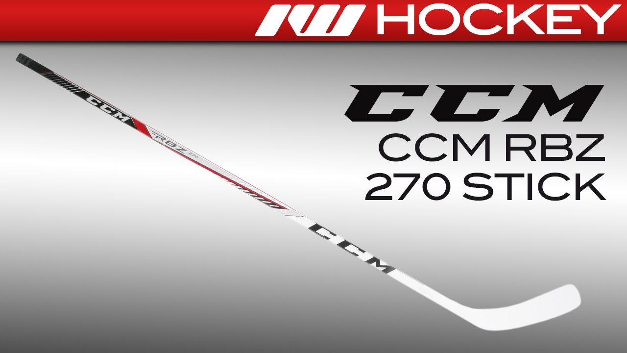 bb18567bc80 CCM RBZ 270 Stick Review - YouTube