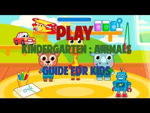 KINDERGARTEN : ANIMALS - GUIDE FOR KIDS