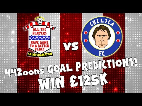 WIN £125k - Southampton vs Chelsea Goals Preview (with Pedro, Luiz, Costa, Austin 2016)