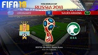 FIFA 18 World Cup - Uruguay vs. Saudi Arabia @ Rostov Arena (Group A)