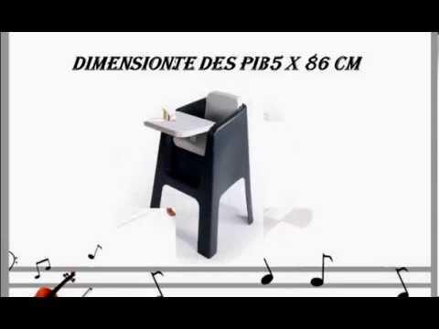 hoppop 31130006 chaise haute trono gris blanc youtube. Black Bedroom Furniture Sets. Home Design Ideas