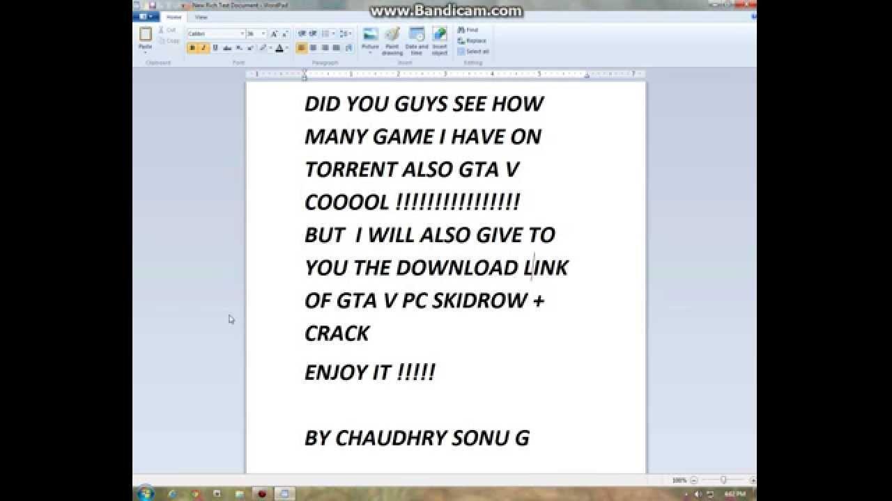 torrent gta 5 pc skidrow