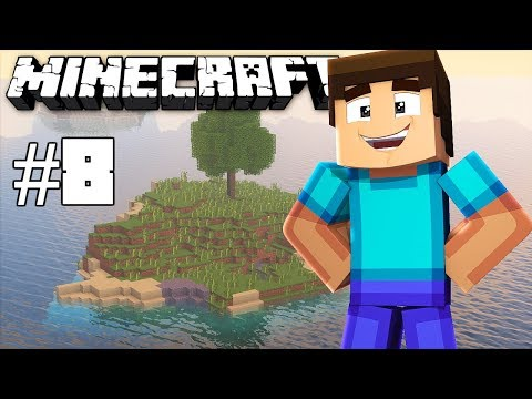 Strip mining & roof in place - Minecraft timelapse - Survival island III - Episode 8