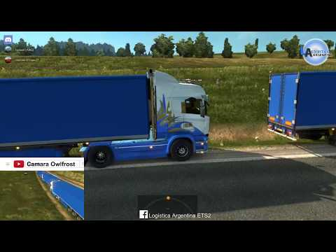 Convoy en Directo Logistica Argentina. Reino Unido + Europa - Doble cam