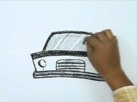 how to draw a police car dragoart