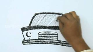 How to Draw a Police Car