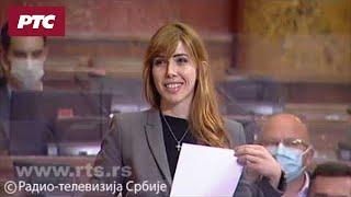 Poslanica SPS repovala u Skupštini