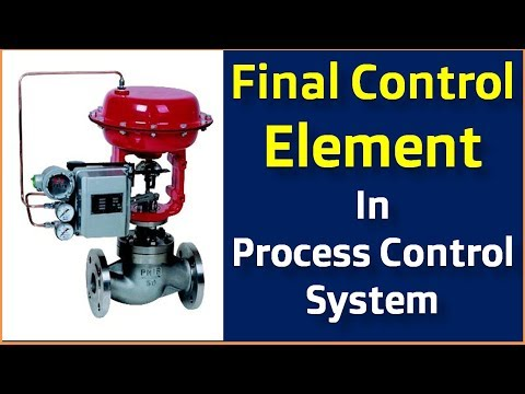 Final Control Element in Process Control System in Hindi -