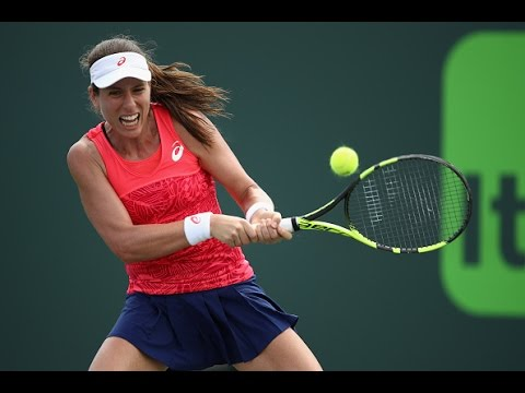 2017 Miami Open Third Round | Johanna Konta vs Pauline Parmentier | WTA Highlights