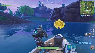 "ACTUAL Season 6 Week 7 Secret Battlestar Location (""Hunting Party"" Secret Battle Star Location)"
